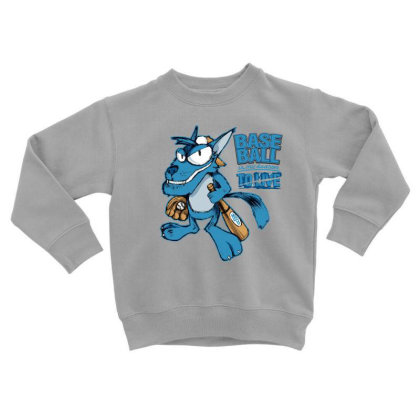 Baseball Toddler Sweatshirt Designed By Disgus_thing