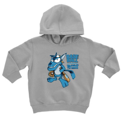 Baseball Toddler Hoodie Designed By Disgus_thing