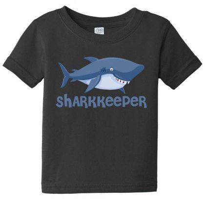 Sharkkeeper Funny Shark Keeper T Shirt Baby Tee Designed By Gnuh79