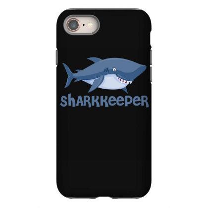 Sharkkeeper Funny Shark Keeper T Shirt Iphone 8 Case Designed By Gnuh79