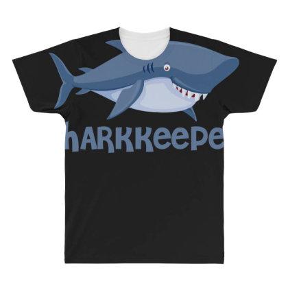 Sharkkeeper Funny Shark Keeper T Shirt All Over Men's T-shirt Designed By Gnuh79