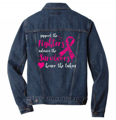 Support The Fighters Admin The Survivors T Shirt Men Denim Jacket Designed By Gnuh79