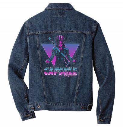 Capsule Corp Men Denim Jacket Designed By Ddjvigo