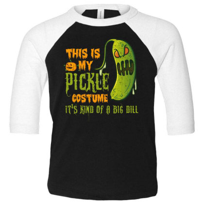 This Is My Pickle Toddler 3/4 Sleeve Tee Designed By Gnuh79
