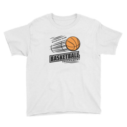 Basketball Youth Tee Designed By Disgus_thing