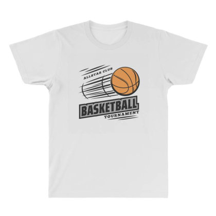 Basketball All Over Men's T-shirt Designed By Disgus_thing