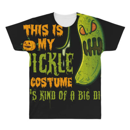 This Is My Pickle All Over Men's T-shirt Designed By Gnuh79