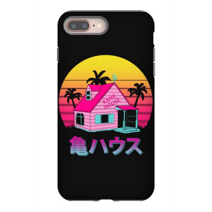 Retro Kame House Iphone 8 Plus Case Designed By Ddjvigo