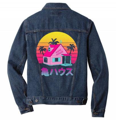 Retro Kame House Men Denim Jacket Designed By Ddjvigo