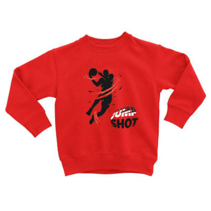 Jump Toddler Sweatshirt Designed By Disgus_thing