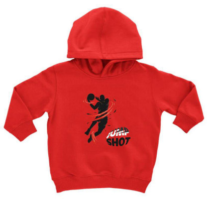 Jump Toddler Hoodie Designed By Disgus_thing