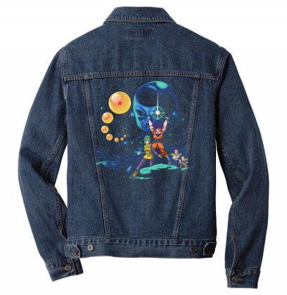 Dragon Wars Men Denim Jacket Designed By Kakashop