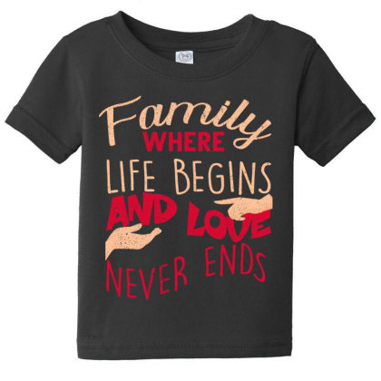 Family Baby Tee Designed By Bettercallsaul