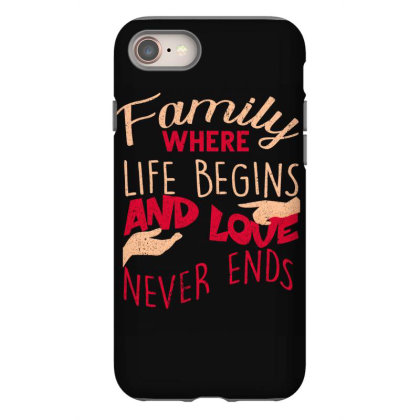 Family Iphone 8 Case Designed By Bettercallsaul