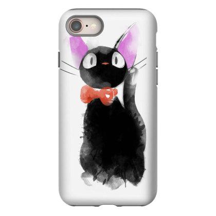 Watercolor Cat Iphone 8 Case Designed By Ddjvigo