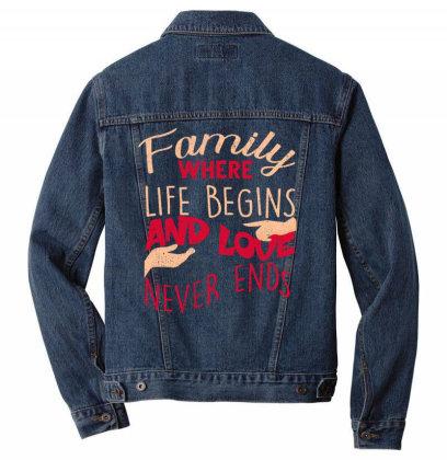 Family Men Denim Jacket Designed By Bettercallsaul