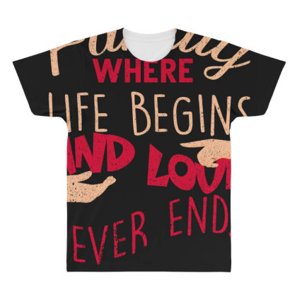Family All Over Men's T-shirt Designed By Bettercallsaul