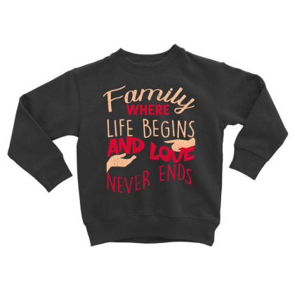 Family Toddler Sweatshirt Designed By Bettercallsaul