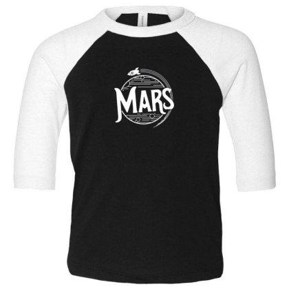 Mars Toddler 3/4 Sleeve Tee Designed By Disgus_thing