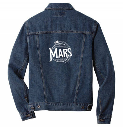 Mars Men Denim Jacket Designed By Disgus_thing