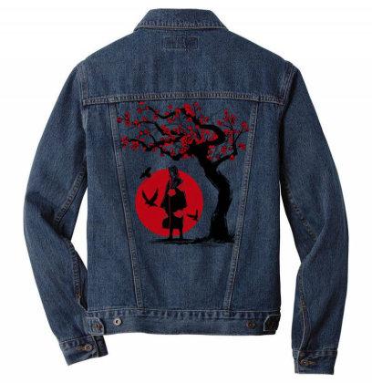 Ninja Under The Sun Men Denim Jacket Designed By Ddjvigo