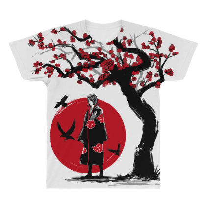Ninja Under The Sun All Over Men's T-shirt Designed By Ddjvigo