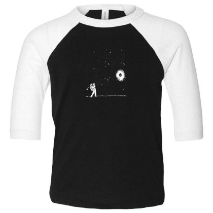 Space Toddler 3/4 Sleeve Tee Designed By Disgus_thing