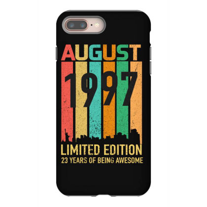 August 1997 23 Years Old 23rd Birthday Iphone 8 Plus Case Designed By Bettercallsaul