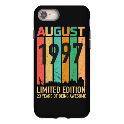 August 1997 23 Years Old 23rd Birthday Iphone 8 Case Designed By Bettercallsaul