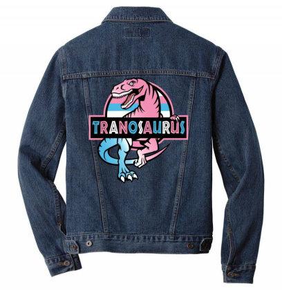 Tranosaurus Men Denim Jacket Designed By Badaudesign