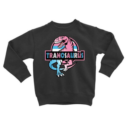 Tranosaurus Toddler Sweatshirt Designed By Badaudesign