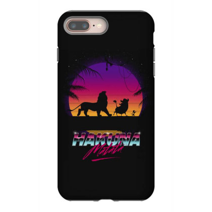 Retro Matata Iphone 8 Plus Case Designed By Ddjvigo