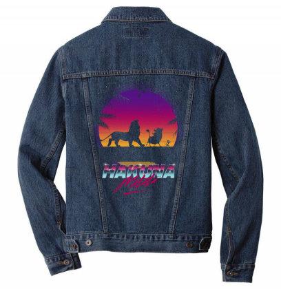 Retro Matata Men Denim Jacket Designed By Ddjvigo