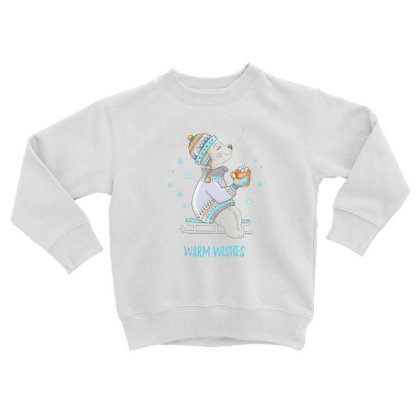 Warm Toddler Sweatshirt Designed By Disgus_thing