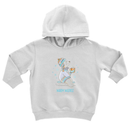 Warm Toddler Hoodie Designed By Disgus_thing