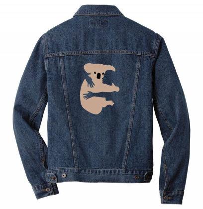 Koala Men Denim Jacket Designed By Disgus_thing