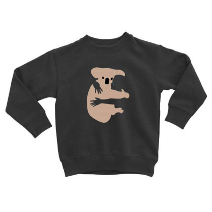 Koala Toddler Sweatshirt Designed By Disgus_thing