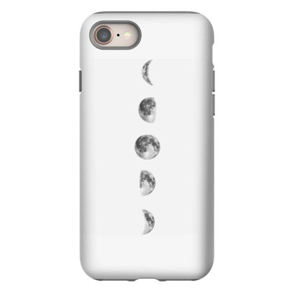 Bohemian Moon Phase Iphone 8 Case Designed By Gunit