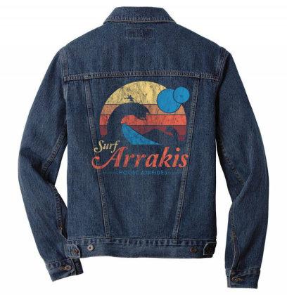 Surf Arrakis Men Denim Jacket Designed By Kakashop