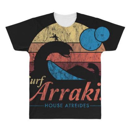 Surf Arrakis All Over Men's T-shirt Designed By Kakashop