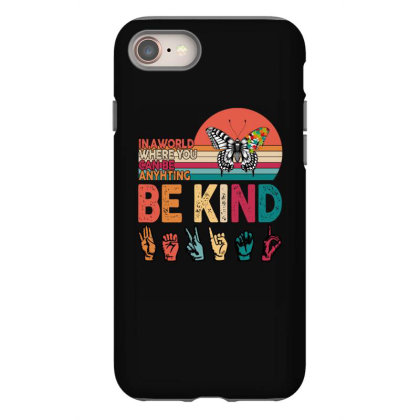 Autism Awareness Be Kind Iphone 8 Case Designed By Badaudesign