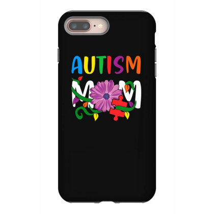 Autism Mom Iphone 8 Plus Case Designed By Badaudesign