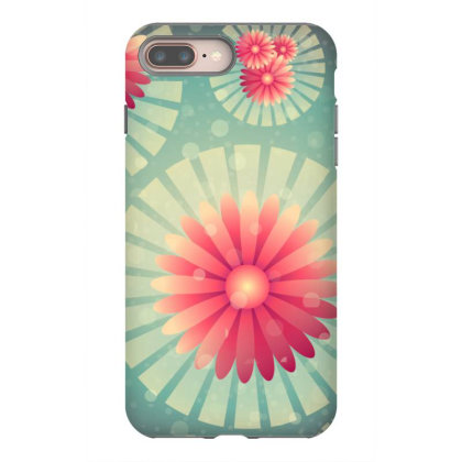Exclusive Floral Flower Art Iphone 8 Plus Case Designed By Chiks