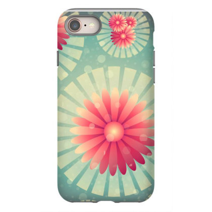 Exclusive Floral Flower Art Iphone 8 Case Designed By Chiks