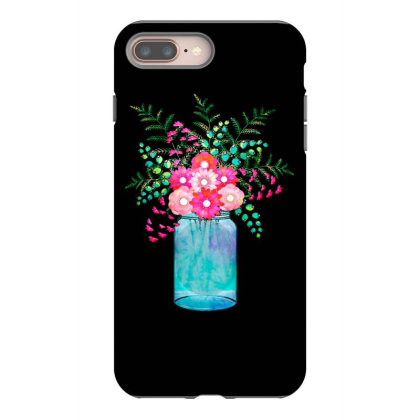 Flower Bouquet Iphone 8 Plus Case Designed By Chiks
