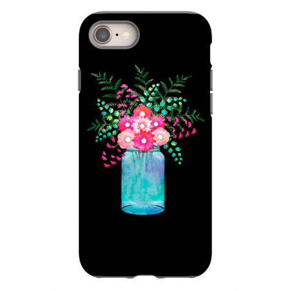 Flower Bouquet Iphone 8 Case Designed By Chiks