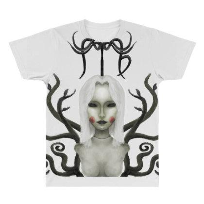 Darkzodiac Series :virgo All Over Men's T-shirt Designed By Knife.vs.face
