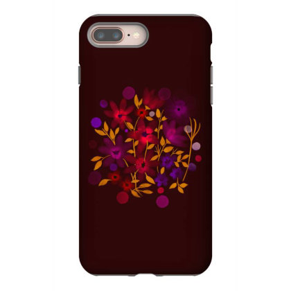 Flower Art Iphone 8 Plus Case Designed By Chiks