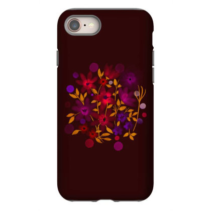Flower Art Iphone 8 Case Designed By Chiks