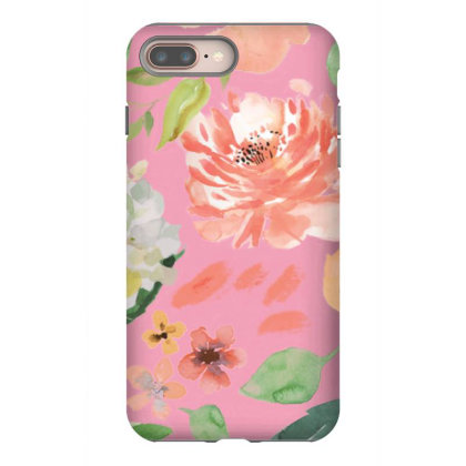 Floral Iphone 8 Plus Case Designed By Gunit
